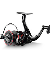 cheap -Fishing Reel Spinning Reel 5.2:1 Gear Ratio+12 Ball Bearings Hand Orientation Exchangable Sea Fishing / Freshwater Fishing / Trolling & Boat Fishing