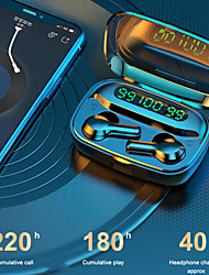 cheap -R3 TWS True Wireless Hifi Sound Earbuds Led Digital Display Bluetooth 5.0 Headset High-Definition Phone Call Automatic Pairing Large-Capacity Charging Compartment for Mobile Phone