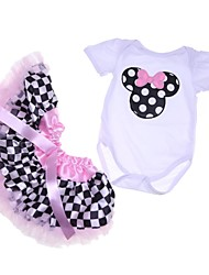 cheap -Reborn Baby Dolls Clothes Reborn Doll Accesories Cotton Fabric for 22-24 Inch Reborn Doll Not Include Reborn Doll Mouse Soft Pure Handmade Girls' 2 pcs