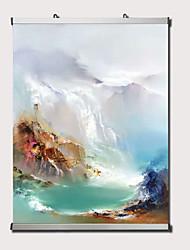 billige -olie maleri håndmalet - abstrakt landskab moderne moderne stræket lærred