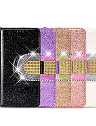 povoljno -etui za jabuke iphone7 8 7plus 8plus xr xs xsmax x se 11 11pro 11promax držač za karticu flip pattern full body futrole pu koža tpu pune boje geometrijski uzorak magnetsko ogledalo
