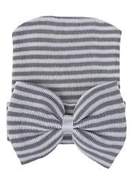 cheap -Infant Unisex Striped Hats & Caps White / Black / Blue