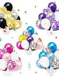 cheap -Party Balloons 10+2 pcs Party Supplies Latex Balloons Boys and Girls Party Wedding Birthday 12inc for Party Favors Supplies or Home Decoration