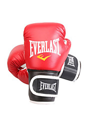 cheap -Boxing Gloves For Boxing Full Finger Gloves Protective Leather Red