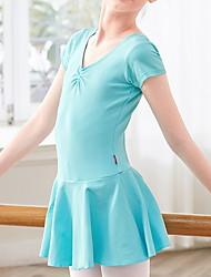 abordables -Ballet Robe Volants Fille Entraînement Utilisation Taille moyenne Polyester