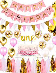 cheap -Party Balloons 30-50 pcs Party Supplies Latex Balloons Banner Boys and Girls Party Birthday Decoration 12inch for Party Favors Supplies or Home Decoration
