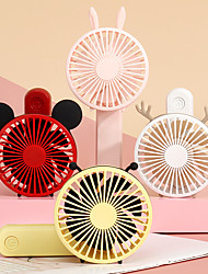 cheap -Air Cooling Fan Handheld Fan Portable Cute Low Noise Multifunction Cool and Refreshing Wind Speed Regulation Lightweight ABS Chargeable For Travel Gift Daily