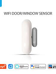 cheap -Smart WiFi Door Sensor Door Open / Closed Detectors Compatible With Alexa Google Home IFTTT