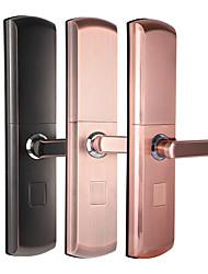 cheap -Semiconductor Fingerprint Lock Anti Theft Door Lock Smart Home Semi Automatic Electronic Password Lock