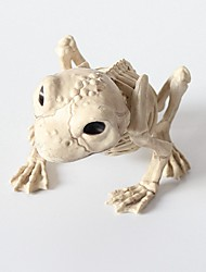 cheap -Skull Halloween Props Men's Decoration Skeleton Halloween Festival / Holiday PP (Polypropylene) Buff / White yellow / Gray yellow Men's Women's Easy Carnival Costumes
