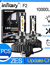 cheap -INFITARY 2pcs H7 / H3 / H11 Car Light Bulbs 48 W 10000 lm 12 LED Headlamps For Volkswagen / Toyota / Honda Mazda6 / Odyssey / Fit All years