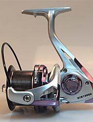 cheap -Fishing Reel Spinning Reel 4.6:1 Gear Ratio+3 Ball Bearings Hand Orientation Exchangable Sea Fishing / Freshwater Fishing / Trolling & Boat Fishing