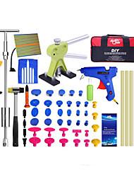 cheap -PDR-G-377 Car Dent Repair Tool Kit Hand Tool Car Kit Paintless Dent Repair Tool Hail Damage Car Body for Any Car Body Dent Repair