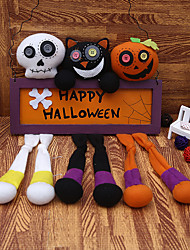 cheap -Halloween Party Toys Pendant Halloween Plush Doll Skull Skeleton Pumpkin Witch Plush Kid's Adults Trick or Treat Halloween Party Favors Supplies