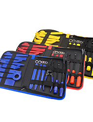 cheap -19Pcs Trim Removal Tool Pry Kit Car Panel Tool Radio Removal Tool Kit Auto Clip Pliers Fastener Remover Pry Tool Kit Car Upholstery Repair Kit Prying Tool Kit with Storage Bag