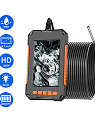 cheap -Industrial Endoscope Camera 1080P HD 4.3IPS Screen Support 64G TF Card Recording Pipe Drain Sewer Duct Inspection Camera IP67 Snake Camera WIth 6 LED