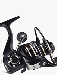 cheap -Fishing Reel Spinning Reel 5.2:1 Gear Ratio Ball Bearings Hand Orientation Exchangable Sea Fishing / Freshwater Fishing / Trolling & Boat Fishing