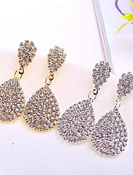 cheap -Alloy Earring with Crystals / Rhinestones 1 Pair Wedding / Daily Wear Headpiece