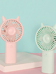 cheap -Air Cooling Fan Handheld Fan Portable Cute Low Noise Multifunction Cool and Refreshing Wind Speed Regulation Lightweight ABS 2 AA Batteries For Travel Gift Daily