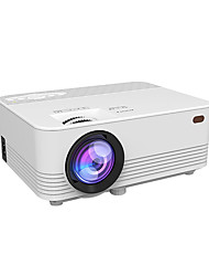 cheap -LED WiFi Projector Mobile Projector with Small Portable HD Home Theater Basic Sync Display Version