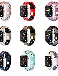 billige -silica Gel Urrem Strap for Apple Watch Series 5/4/3/2/1 22cm / 8,66 tommer 2cm / 0.8 Tommer