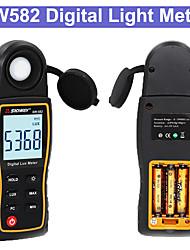 Недорогие -sw582 цифровой экспонометр люксметр люкс / фк метров люминометр фотометр экспонометр 0-199900люкс цифровой измеритель освещенности