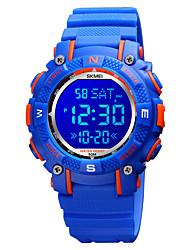 cheap -SKMEI Kids Digital Watch Digital Digital Modern Style Sporty Colorful Calendar / date / day Chronograph Alarm Clock / One Year / Silicone