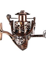 cheap -Fishing Reel Spinning Reel 4.7:1 Gear Ratio 17+1 Ball Bearings Easy to Carry for Sea Fishing / Freshwater Fishing / Trolling & Boat Fishing