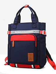 cheap -Large Capacity / Waterproof Commuter Backpack Boys' Oxford Cloth School / Outdoor Red / Girls' / Fall & Winter