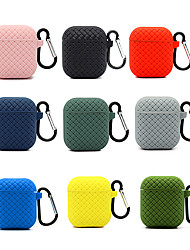 cheap -Earphone case for airpods12 Antifall cover AirPods luxury soft silicone Protective cases AntiFingerprints