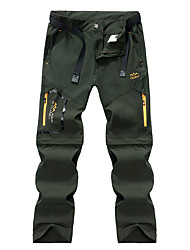 cheap -Women's Girls' Hiking Pants Softshell Pants Hiking Cargo Pants Outdoor Portable Breathable Quick Dry Sweat-wicking Spandex Pants / Trousers Bottoms Black Army Green Grey S M L XL XXL