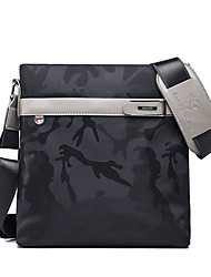 cheap -Men's Bags Oxford Cloth Synthetic Shoulder Messenger Bag Zipper Daily Outdoor MessengerBag Black Grey Black Blue Dark Blue