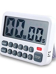 cheap -Electric Kitchen Timer Home Reminder Baking Timer 99 Minutes Countdown Timer