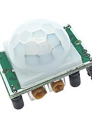 Недорогие -пироэлектрический инфракрасный датчик hc-sr501 для инфракрасного индукционного модуля человеческого тела