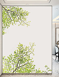 cheap -Green Tree Wall Stickers Decorative Wall Stickers, PVC Home Decoration Wall Decal Wall Decoration / Removable 60*90CM