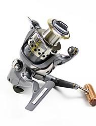 cheap -Fishing Reel Spinning Reel 5.0:1, 4.5:1 Gear Ratio+5 Ball Bearings Hand Orientation Exchangable Sea Fishing / Freshwater Fishing / Trolling & Boat Fishing