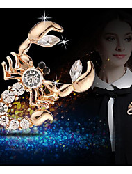 cheap -Men's Brooches Animals Brooch Jewelry Gold For Daily Wear