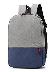povoljno -Velika zapremnina Najlon Patent-zatvarač ruksak Color block Sport & otvorenom Crn / Plava / Fuksija