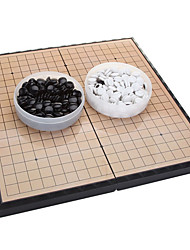 cheap -Board Game Chess Game Go Chess / Weiqi Plastic Kid's Adults' Unisex Boys' Girls' Toy Gift