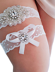 cheap -Women's Thin Legwarmers - Sexy / Lace 10D White One-Size