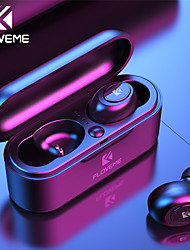 cheap -FLOVEME Mini TWS Wireless Headphones Bluetooth 5.0 Earphone Sport Headset 3D Stereo Sound with Micro Charging Box