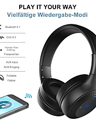 cheap -ZEALOT B20 Over-ear Headphone Wired Bluetooth 4.2 Stereo with Microphone with Volume Control HIFI LED Power Display