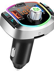 cheap -BC63 Bluetooth Transmitter Car Wireless Bluetooth Car Adapter Bluetooth Car Kit Car Handsfree Car MP3 FM Modulator / FM Radio Car 18W QC 3.0 + PD 3.0 USB C Fast Charger