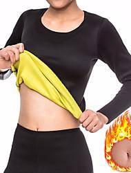cheap -Sweat Shapewear Sports Neoprene Home Workout Fitness Gym Workout No Zipper Weight Loss Tummy Fat Burner Hot Sweat For Men Women