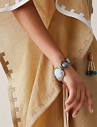 cheap -Women's Bracelet Geometrical Precious Fashion Alloy Bracelet Jewelry Gold For Street