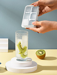 cheap -3pcs Protable Ice Cube Tray With Lid Yogurt Jelly Mould Home Diy For Summer Ice Cream Tools Kitchen Tools & Gadgets