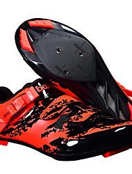 cheap -BOODUN Adults' Bike Shoes Mountain Bike Shoes Nylon Breathable Anti-Slip Mountain Bike MTB Road Cycling Cycling / Bike Black / Red Black Black / Green Men's Women's Cycling Shoes / Hook and Loop
