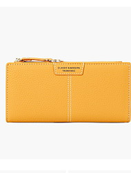 cheap -Women's Zipper PU Leather Wallet 2020 Black / Blue / Red