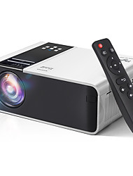 cheap -Mini Projector AT86 HD Native 1280 x 720P Support 1080P LED Android WiFi Projector Video Home Cinema 3D HDMI Movie Game Proyector TD90