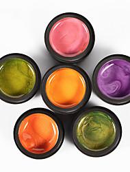 cheap -Nail Polish UV Gel  5 ml 12 pcs Color Changing / Stylish Soak off Long Lasting  Causal Color Changing / Stylish Fashionable Design / Colorful